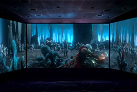 Công nghệ chiếu phim đa diện lần đầu đến Việt Nam