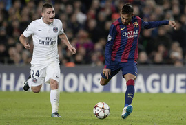 Hiệu ứng domino từ Neymar