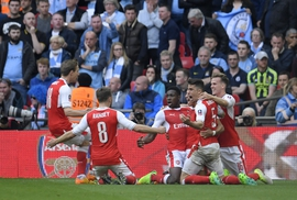 Clip: Arsenal thắng kịch tính Man City, vào chung kết Cúp FA