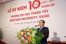 Một trong những người giàu nhất sàn chứng khoán thành chủ tịch Trường ĐH Thành Tây