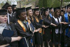 Mỹ: Phó Tổng thống phát biểu, nhiều sinh viên bỏ về