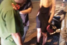 Giúp bạn, nữ du khách nước ngoài mất xe máy