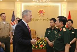 Bộ trưởng Quốc phòng Ngô Xuân Lịch lần đầu thăm Mỹ