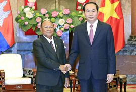 Việt Nam - Campuchia: Tình không biên giới