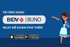 Chuyển tiền không cần nhớ số tài khoản cùng BIDV