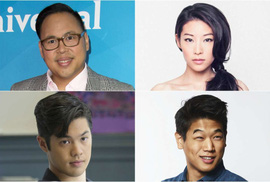 Diễn viên châu Á tỏa sáng ở Hollywood