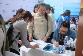 Hàng ngàn sinh viên tham gia ngày hội ngành du lịch