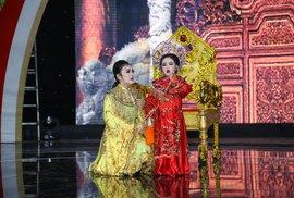 """Thí sinh nhí 5 tuổi thử sức với vai diễn nặng ký """"Thượng Dương hoàng hậu"""""""