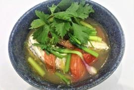 Cá chét nấu ngót, ăn một lần nhớ mãi!