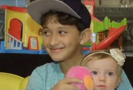 Bé trai 10 tuổi… đỡ đẻ cho mẹ!