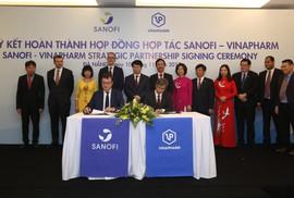 Sanofi Việt Nam hợp tác cùng Vinapharm sản xuất thuốc