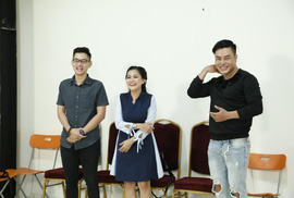 """Lê Dương Bảo Lâm, Huy Nam """"rủ rê"""" nhau casting phim hài mới"""
