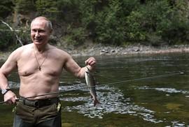 Tổng thống Putin cởi trần nghỉ mát tại Siberia