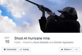 Hàng chục ngàn người đòi nổ súng đuổi bão Irma