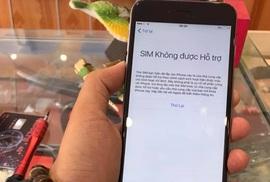 SIM ghép 'thần thánh' 4G bị khóa trên iPhone tại VN