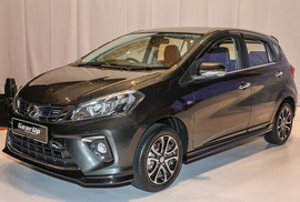 """Ôtô siêu rẻ Perodua """"mượn"""" máy Toyota giá chỉ 234 triệu"""