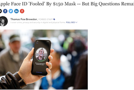 Những câu hỏi chưa lời đáp về thử nghiệm Face ID của Bkav