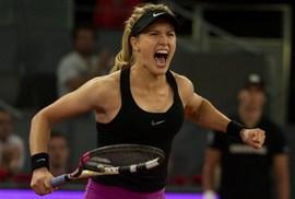 """Kiều nữ"" Bouchard loại số 2 thế giới tại Madrid Open"