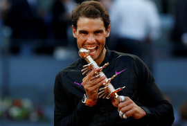 Rafa Nadal lần thứ 5 đăng quang tại Madrid Open