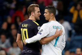 Trọng tài cứu, Real Madrid thoát hiểm trước Tottenham