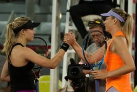 Sharapova thua Bouchard, Madrid Open dậy sóng bảng nữ