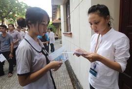 Bộ GD-ĐT công bố đề thi minh họa bài thi THPT quốc gia 2017