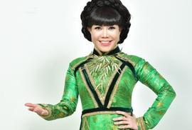 Danh hài Việt Hương trở lại Làng Hài Mở Hội mùa 2