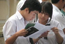 Gợi ý giải đề thi môn Tiếng Anh tốt nghiệp THPT 2009