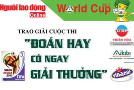 Một bạn đọc ở Ninh Thuận trúng thưởng