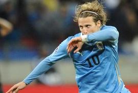 Forlan đoạt Quả bóng vàng World Cup 2010