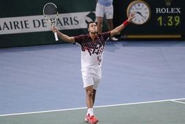 Vòng 2 Paris Masters: Chủ nhà hài lòng