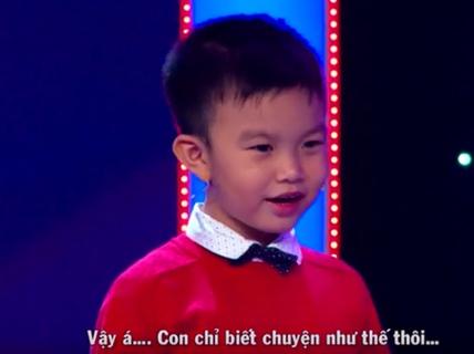 """Ba bé Minh Khang: """"Nhất quyết không cho con thi gameshow nữa!"""""""