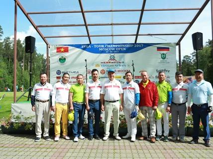 Khép lại Giải Golf EVGA – Moscow Open 2017