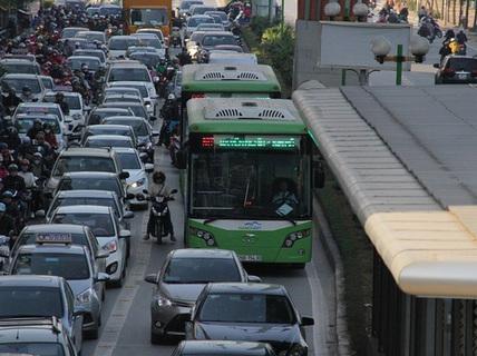 Kiểm toán Nhà nước: Xe buýt nhanh có nguy cơ làm tăng ùn tắc