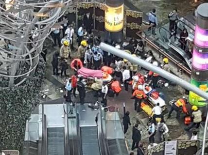 Thang cuốn dài nhất Hồng Kông gặp sự cố