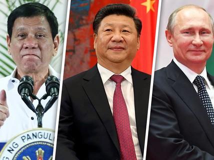 """Ông Duterte đi gặp """"người anh hùng yêu thích"""""""