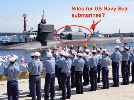 Tàu ngầm Mỹ chở đặc nhiệm SEAL tới Hàn Quốc?