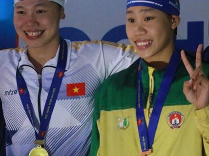 Vũ Thị Phương Anh: Hai lần thắng Ánh Viên
