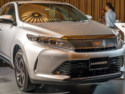 Harrier 2017 - SUV sang của Toyota