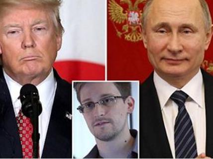 """Nga muốn tặng """"người thổi còi"""" Snowden cho TT Trump"""