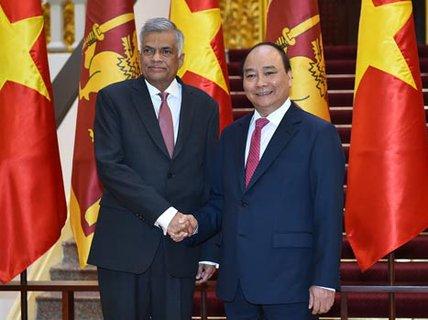 Việt Nam và Sri Lanka phấn đấu đạt kim ngạch 1 tỉ USD/năm