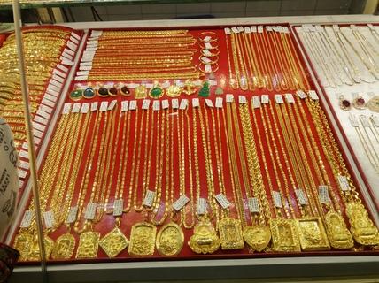 Vàng SJC vắng người mua