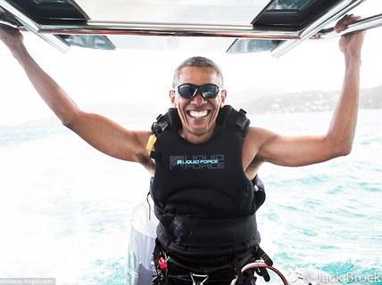 Ông Obama quên hẳn Nhà Trắng?