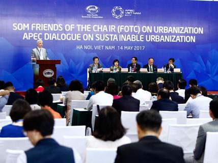 APEC bàn biện pháp phát triển đô thị hóa bền vững