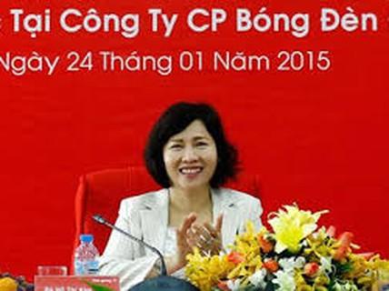 Chưa xem xét việc thu hồi tài sản Thứ trưởng Hồ Thị Kim Thoa