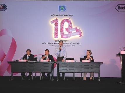 Nhiều tín hiệu đáng mừng trong điều trị ung thư vú tại Việt Nam