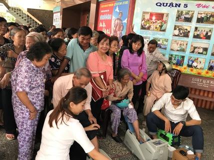 Chuỗi hội thảo chăm sóc sức khỏe người cao tuổi