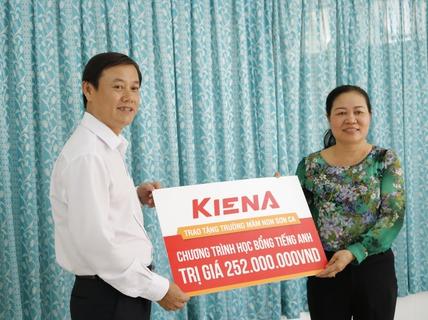 Kiến Á Group trao tài trợ cho cụm trường học tại Khu đô thị Cát Lái