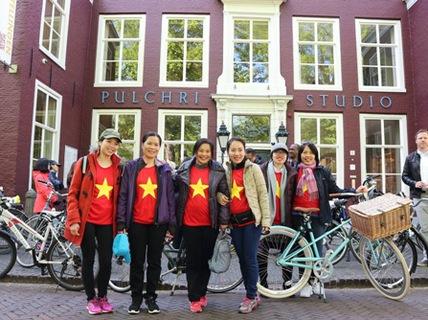 Kỳ thú đạp xe kiểu Hà Lan