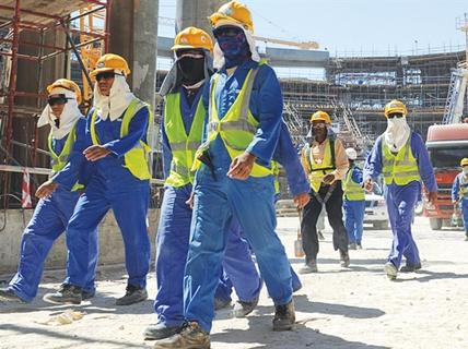 Hạn chế tuyển và đưa lao động mới sang Qatar